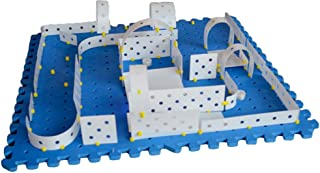 Kinazium: Create Challenges for Robots, RC and Other Rolling Toys - Construct and Build Mazes, Obstacles, Towers, Games an...