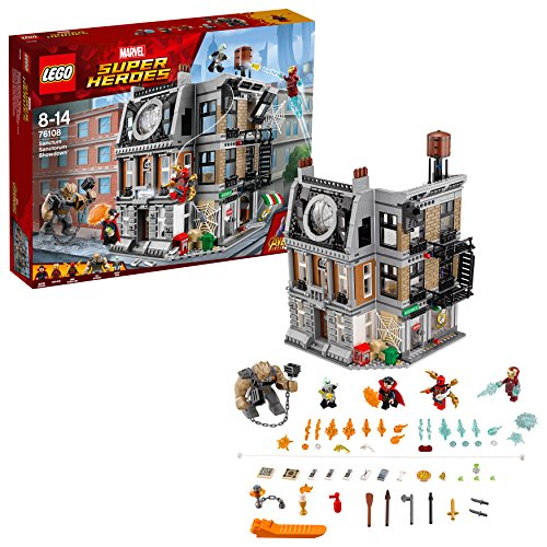 LEGO Marvel Super Heroes - La bataille pour la protection du Saint des Saints - 76108 - Jeu de Construction