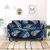 ASCV Funda de sofá para Sala de Estar Elasticidad Antideslizante Funda de sofá Funda de Licra Universal para Funda de sofá elástica A4 2 plazas