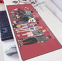 大型900X400mm耐久性ゴムゲーミングマウスパッドファッションラップトップノートブックオフィスデスクマットコンピューターゲーマーノンスライドマウスパッドワンピース-A_900x400x3mm