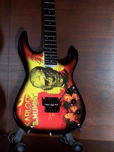 Mini Gitarre METALLICA KIRK HAMMETT MUMMY Anzeige GESCHENK