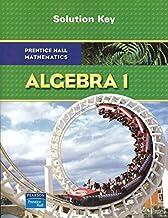 Algebra 1: Solution Key by Prentice Hall Mathematics (2008) Paperback