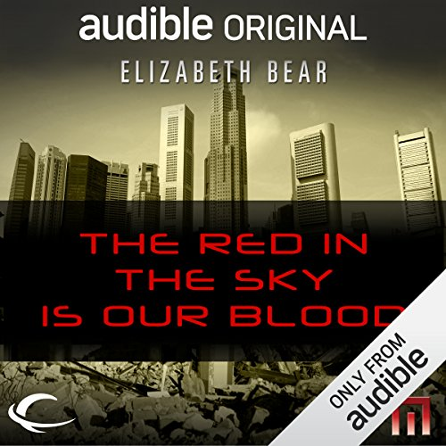 The Red in the Sky Is Our Blood audiobook cover art