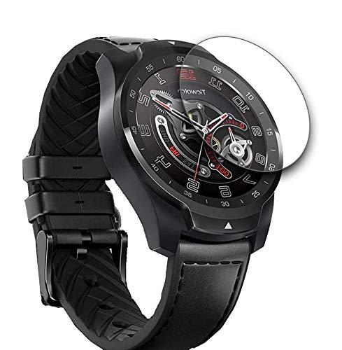 Seama Ticwatch Pro Panzerglas Schutzfolie[3 Stück], Premium Hartglas Bildschirmschutz für Ticwatch Pro mit Einer Festigkeit von 9H & Einfacher Anbringung