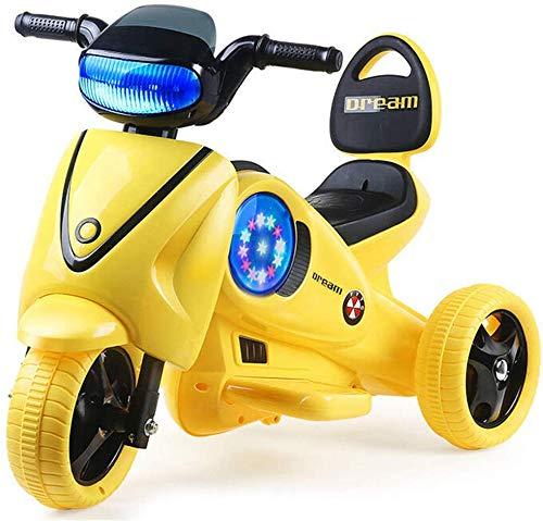 FEE-ZC Kid Safety Kids Ride on Motorcycle, Moto de 3 Ruedas, Bicicleta...