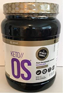 KETO//OS Chcolate Swirl CHARGED, BHB Salts Ketogenic Supplement - Beta Hydroxybutyrates Exogenous Ketones for Fat Loss, Workout Energy Boost and Weight Management through Fast Ketosis, 30 Servings