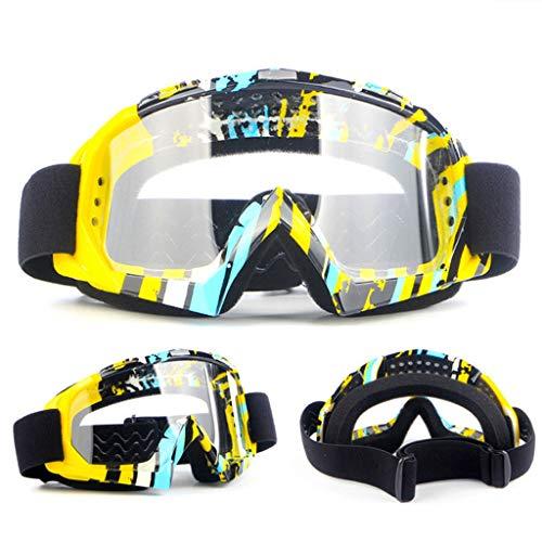 JIAAN Occhiali da Sci Maschera da Sci Unisex,per portatori di Occhiali,Sistema Airflow,Occhiali da Sci per Uomo Donna Teenager Adatto a Snowboard,Motocross e Altri Sport Invernali