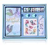 HONGFAGO - Set di carta da lettere per bambini, diario per bambini, confezione regalo, reg...