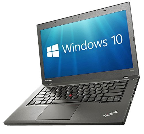 Lenovo ThinkPad T440 Laptop PC - 14.1in i5-4300U 8GB 240GB SSD WiFi WebCam USB 3.0 Windows 10 Professional 64-bit (Renewed)