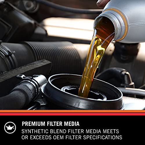 K&N Premium Oil Filter: Protects your Engine: Compatible with Select 2005-2019 PORSCHE/AUDI/VOLKSWAGEN (Cayenne, Q5, Q7, SQ5, S4, S5, Quattro, A4, A5, A6, A7, A8, Cabriolet, Touareg), PS-7015
