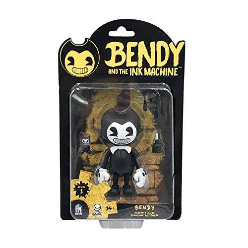 Bendy And The Ink Machine- Bendy Figura de accion, Color Negro (Phat Mojo BTIM6601)