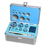 Goetland Kalibriergewicht Set aus 304 Edelstahl Genauigkeitsklasse F1 1 mg - 1 kg zum Überprüfen &...