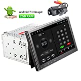 Android 7.1 Autoradio-Stereo Doppel-DIN-10,1-Zoll-kapazitive Touch Screen High Definition 1024x600 GPS-Navigations-DVD CD-Player 2G DDR + 16G...