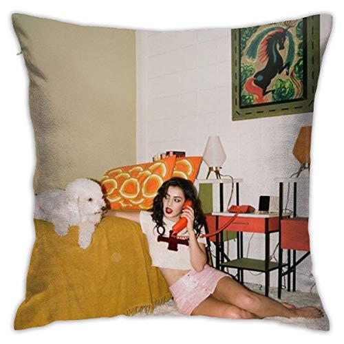 TVXQXIAH Charli XCX Pillow Cases Covers Pillowcase Multicoloured Generalduty 18inch X 18inch