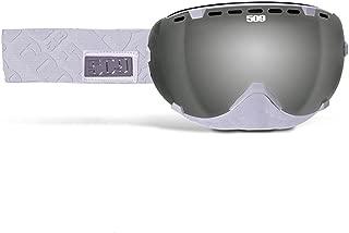 509 Aviator Goggle - White with Chrome Mirror Lens