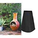 Outdoor Patio Chiminea Cover Waterproof Protective Chimney Fire Pit Heater Cover for Outdo...