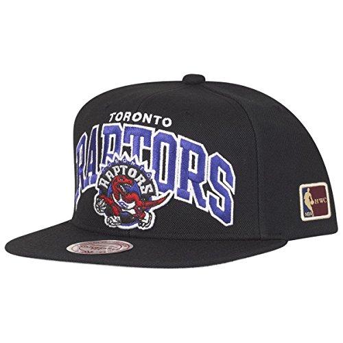 Mitchell & Ness Toronto Raptors HUD127 Black Team Arch Snapback Cap HWC NBA