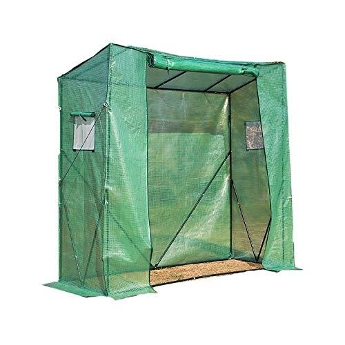 Green Home Couverture végétale à Effet de Serre, Vert Mini Serre Ménage Usine PVC Jardin Chaud Chambre - 200x200cm