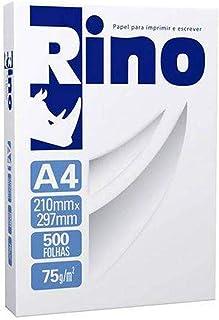 Papel Sulfite A4 Rino 75 g - Pacote com 500 Folhas, International Paper, RINO75CA4, Branco