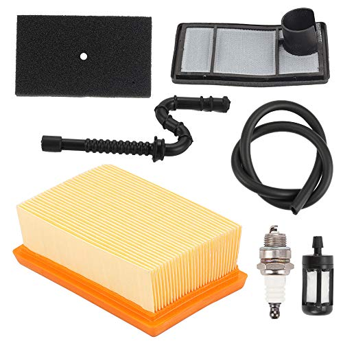 Highmoor TS400 Air Filter Tune Up Kit for Sthil TS 400 Concrete Cut Off Saw HS-274E Chainsaw 4223 140 1800, 4223 141 0300, 4223 141 0600, 4223 007 1010 Air Cleaner Replacement