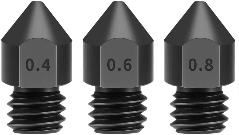 3D Trust Printer Parts Accessories, OFFer MK8 1.75mm Hardened Nozzle Steel
