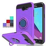 Wtiaw Phone Case:Galaxy J3 Emerge Case,Galaxy Express Prime 2/Galaxy Amp Prime 2/Galaxy J3 Luna Pro/ J3 Sol 2/Galaxy J3 Eclipse/Galaxy J3 Prime/Galaxy J3 Mission Case for Galaxy J3 2017-CH Purple