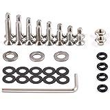 Ersatzschrauben-Set für Schlüsselorganizer | passt für Keypack Carbokey und Carbocage | 36 Teile