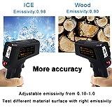 Zoom IMG-2 ketotek termometro a infrarossi digitale