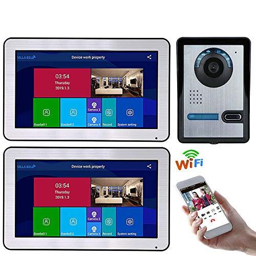WIFI Video-Türsprechanlage Intercom-System 10