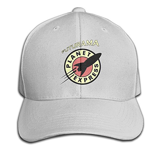 Beetful Cartucho Futurama Planet Express a Todo Color Ajustable Gorra de béisbol de Hip-Hop caphats Caps