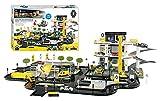 Starlux – Super Garage Renault con Station-Service completo 3 livelli, piattaforma di intervento e circuito di 4 metri – a partire dai 3 anni – Made in Europe – 401308