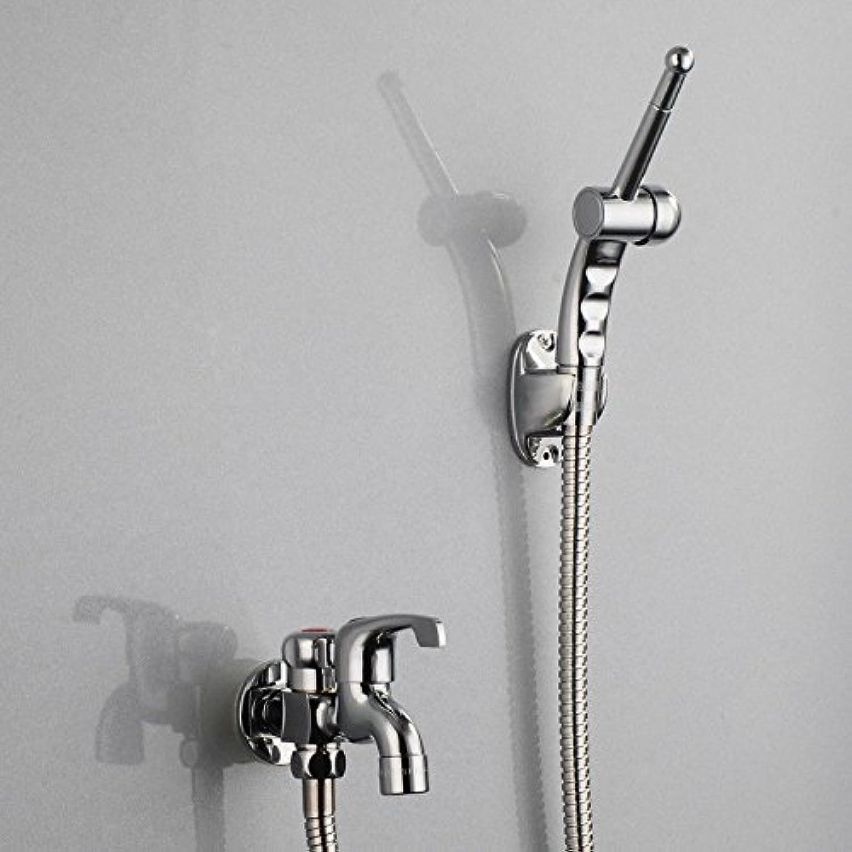 NewBorn Faucet Küche oder Badezimmer Waschbecken Mischbatterie Alle Kupfer Minimalistischen Modernen Cold-Hot Wasser Kreative weien Lack Vanity 2 Tippen Sie auf