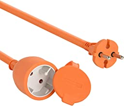 Electraline 101053 - Cable alargador eléctrico para jardín