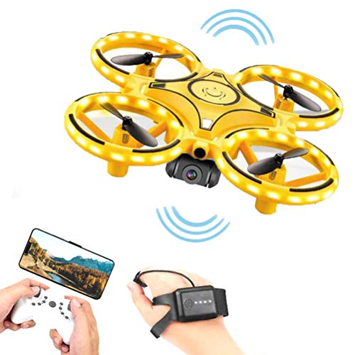 Mini dron, Quadcopter con cámara HD, Sensor...