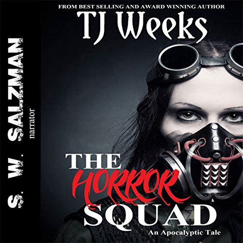 The Horror Squad audiobook cover art