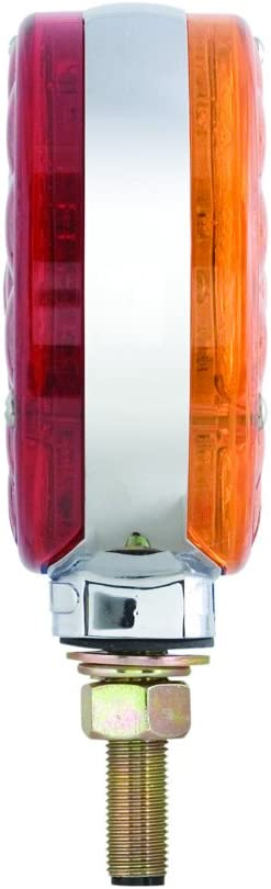 Optronics San Jose Cheap super special price Mall STL52ARBP Amber and Red Faced Round Dual Pedestal LED