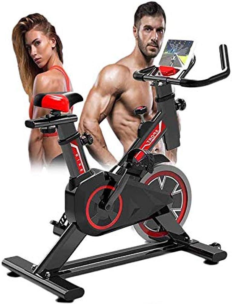Mujing, cyclette spin indoor sunny health & fitness, con sensori palmari, dispositivo di allenamento MU-09