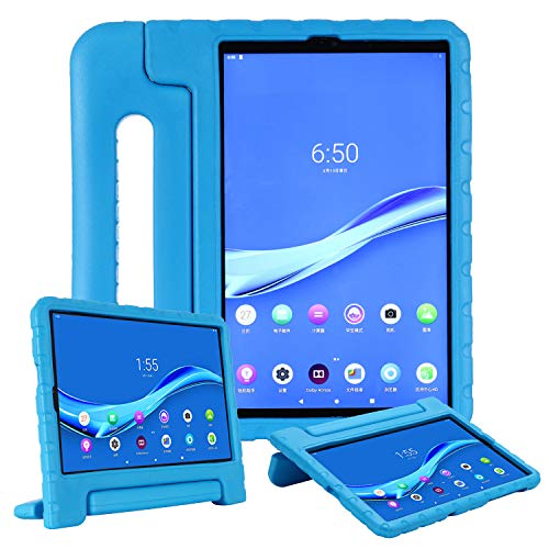 UGOcase for Lenovo Tab M10 FHD Plus Case 10.3 Inch, TB-X606F TB-X606X Case for Kids, Slim EVA Shockproof Convertible Handle Stand Children Toddler Friendly Case for Lenovo Tab M10 Plus 10.3' 2020,Blue