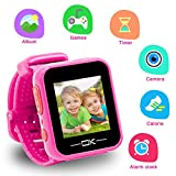 Toys for 3-8 Year Old Girls Pussan Smart Watches for Kids Toddler Watch with Camera USB Charging Best...