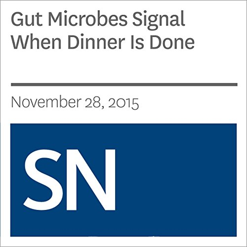 Gut Microbes Signal When Dinner Is Done cover art