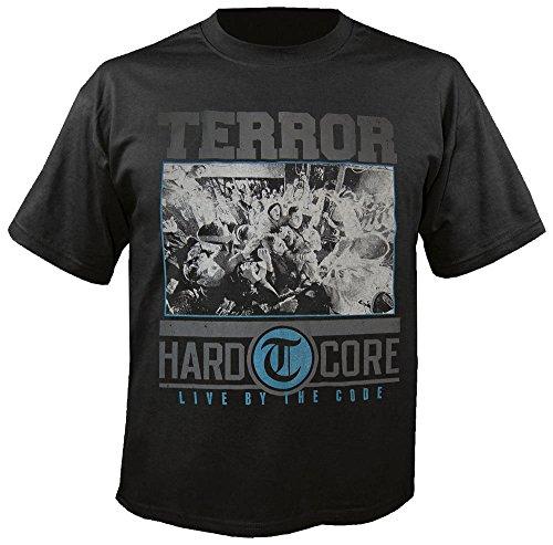 Terror - Hardcore - Black - T-Shirt Größe L