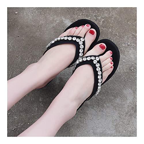 Comfortabel en veelzijdig temperament Slippers for Vrouwen Flip Flops 6.5cm / 2,56