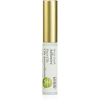 KISS Strip Eyelash Adhesive, Clear, 0.17 Ounce