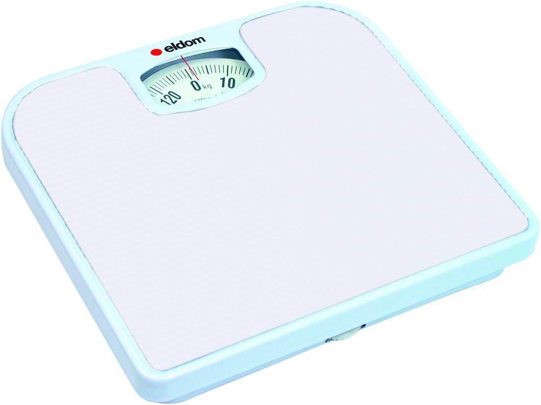 Báscula Personal Mecanica Eldom BR2016 Hasta 130 kg blanco