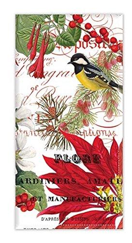 Michel Design Works Turkish Cotton Napkins, Set of 4, Merry & Bright (FNAP276)