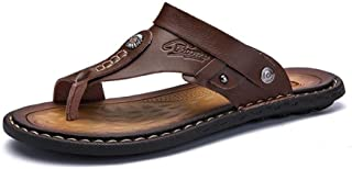 Men'S Slippers Non-Slip Casual Shoes Classic Massage Beach Slippers