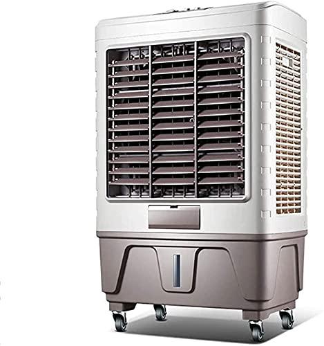 Aire Acondicionado Portátil Enfriador evaporante, portátil, enfriador de aire evaporativo portátil, acondicionador de aire móvil 3 en 1, que cubre un máximo de 25 metros cuadrados, aire acondicionado