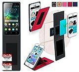 Hülle für Huawei Honor 4C Tasche Cover Hülle Bumper   Rot   Testsieger