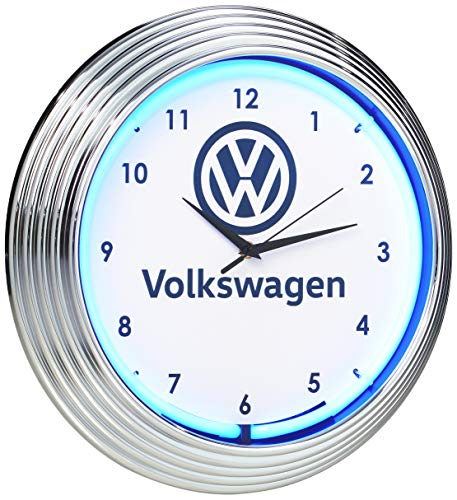 Neonetics Volkswagen VW Reloj de neón