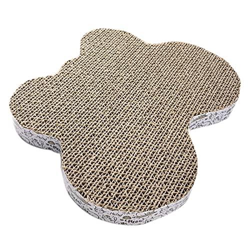VQAGDV Nail raspador Mat ambientalmente arañazos con Mascotas Juguetes for Gatos Cat Pad Pad Corrugado rascadores Gatito Corrugado Papel de Pista de molienda Conveniente y Gatos (Color : Style 2)